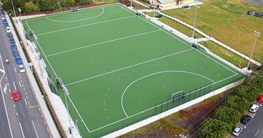 Sports turf project Waitakere Regional hockey turf Earthco Civil contractor Auckland